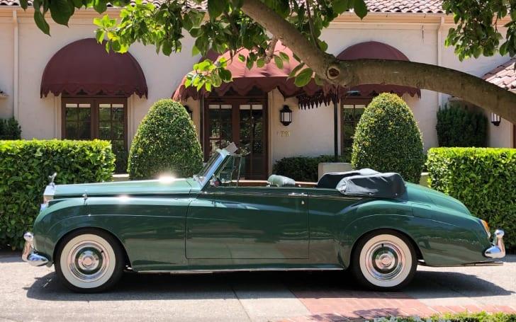 Elizabeth Taylor's green Rolls Royce