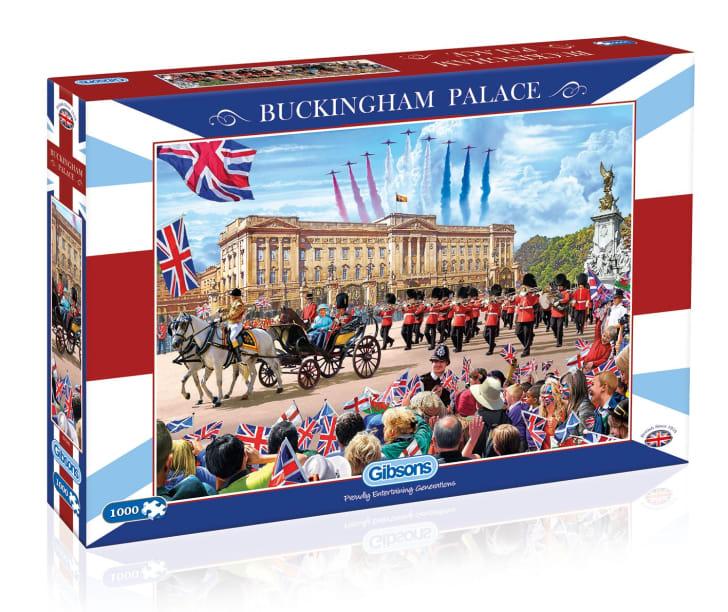 buckingham palace jigsaw puzzle