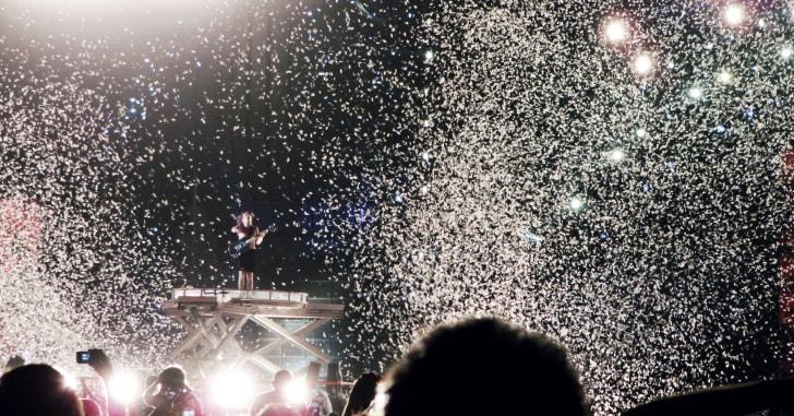 AC/DC in concert in Argentina