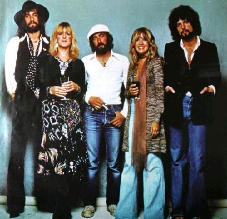 Trade ad for Fleetwood Mac's album Rumours