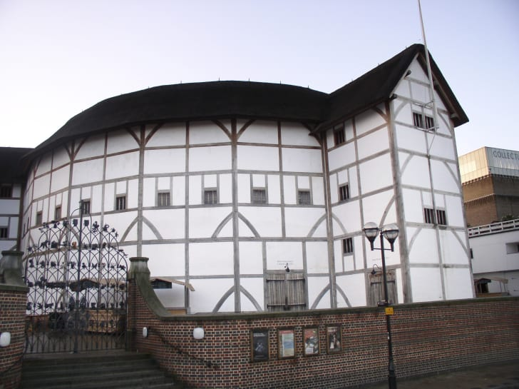 Exterior of Shakespeare's Globe Theatre