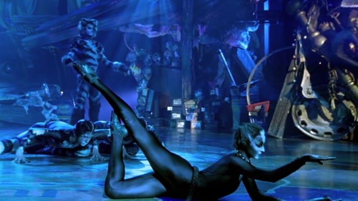 cassandra in 1998's cats film
