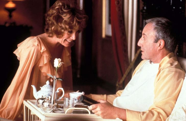 Shirley MacLaine and Peter Sellers in Being There (1979)