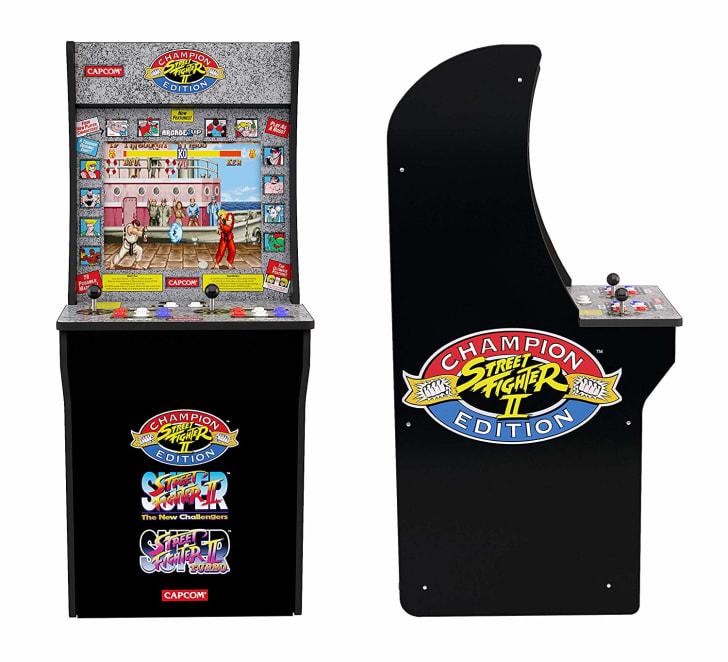 Street Fighter II Arcade Cabinet.