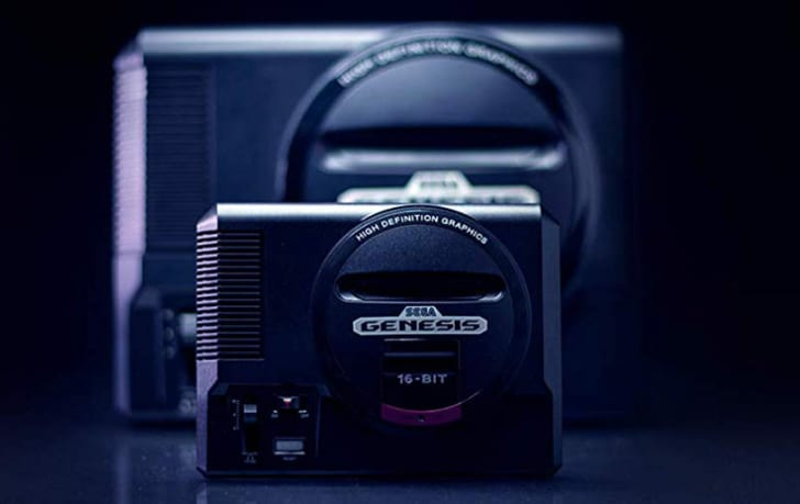 Sega Mini Classic System.