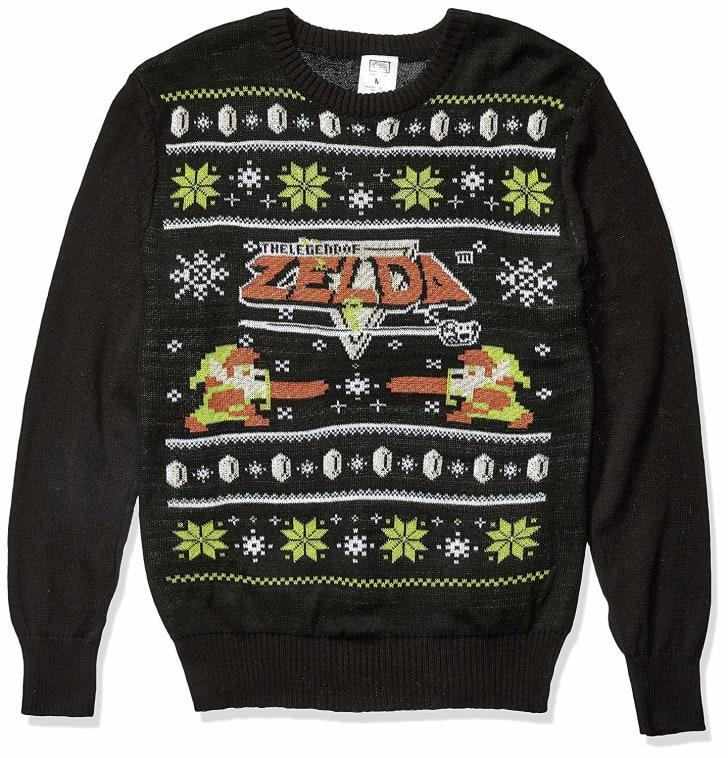 Legend of Zelda Ugly Christmas Sweater