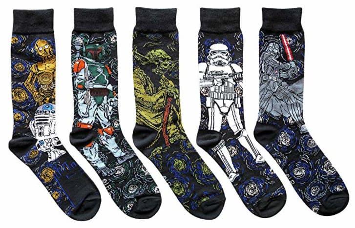 Star Wars Starry Night socks.