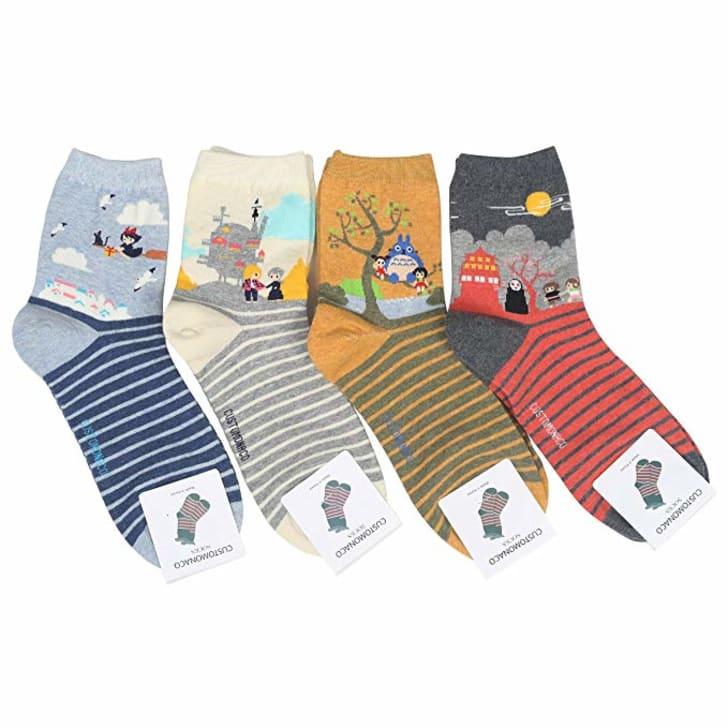 Studio Ghibli socks.
