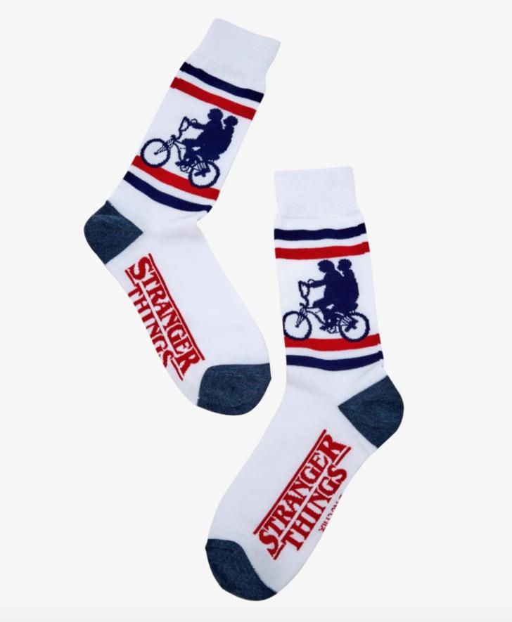 Stranger Things socks.