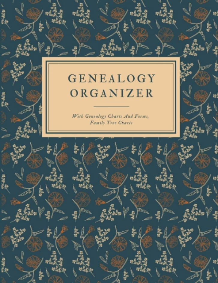 Genealogy organizer book