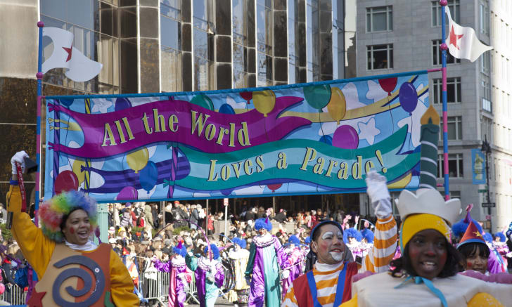 General atmosphere at the 86th Annual Macy's Thanksgiving Day Parade on November 22, 2012 in New York City.