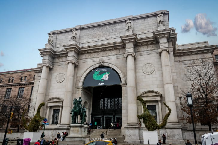 The exterior of New York City's American Museum of Natural History