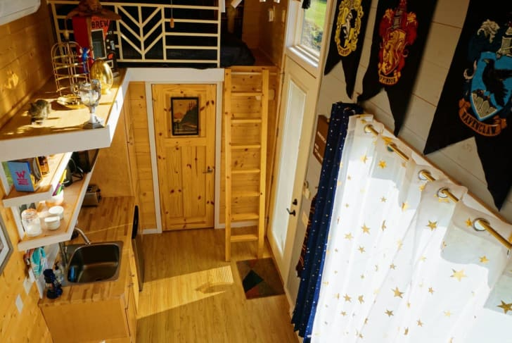 Harry Potter tiny house on Airbnb.