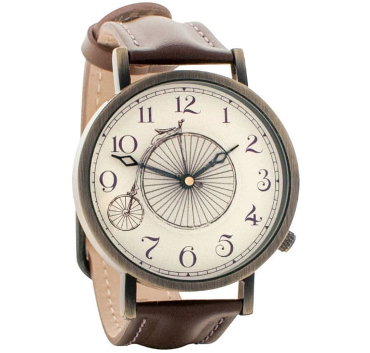 Penny-farthing watch