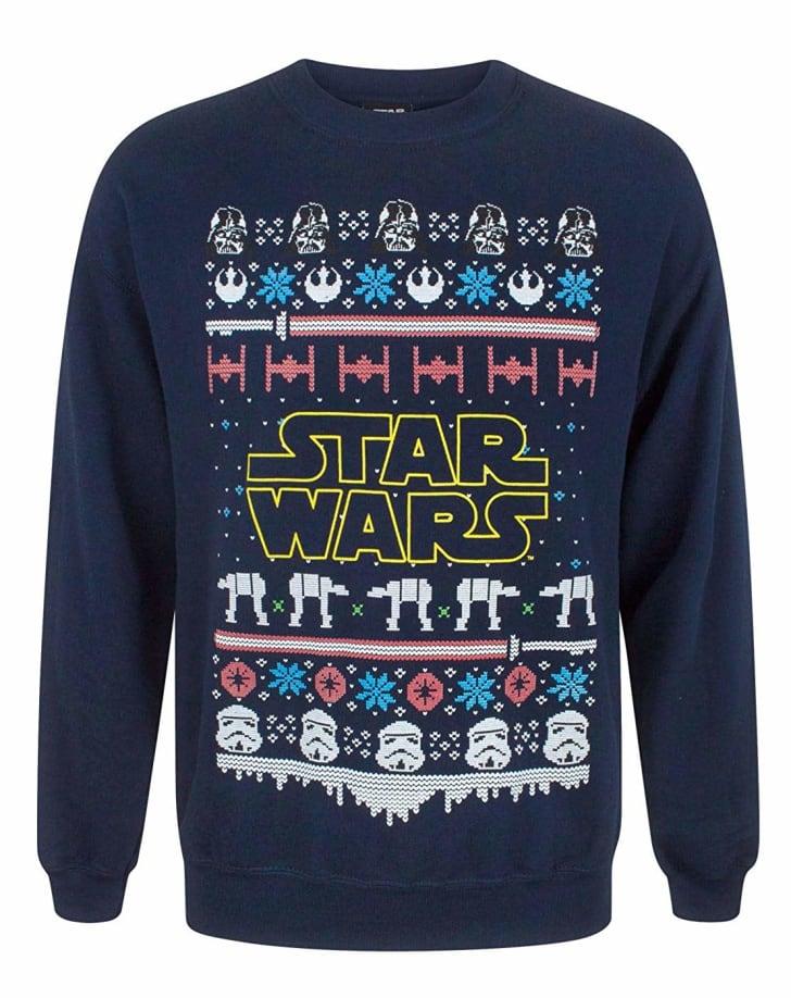 star wars ugly christmas sweater