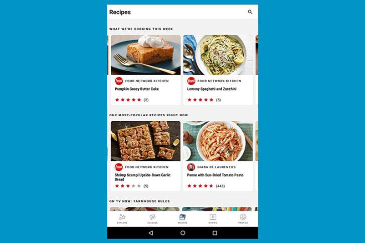 Food Network app