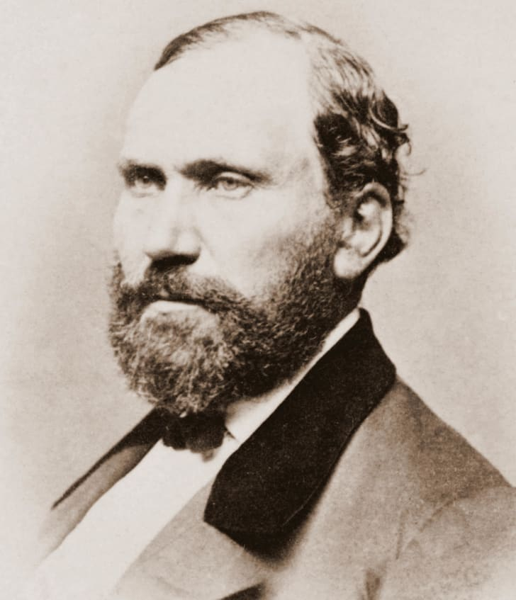 A photo of Allan Pinkerton circa 1861