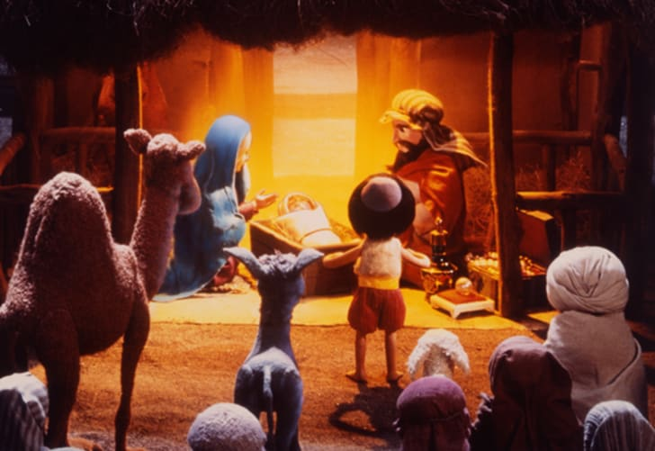 Scene from The Little Drummer Boy, Book II.