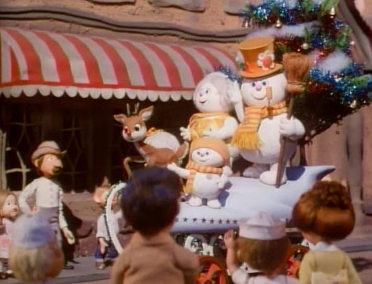 Scene from Rudolph and Frosty's Christmas in July.