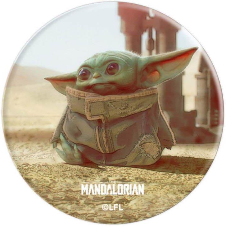Baby Yoda phone holder