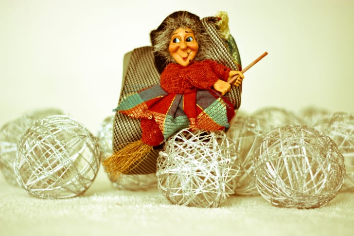 Befana, the Christmas witch of Italy