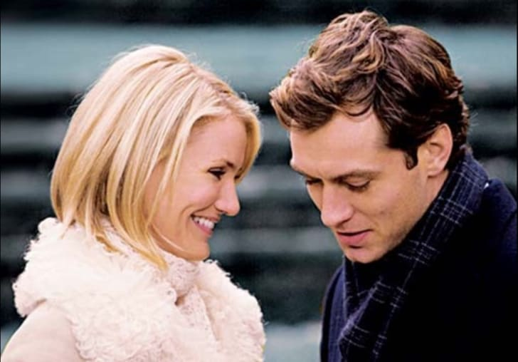 Cameron Diaz and Jude Law star in 'The Holiday' (2006)