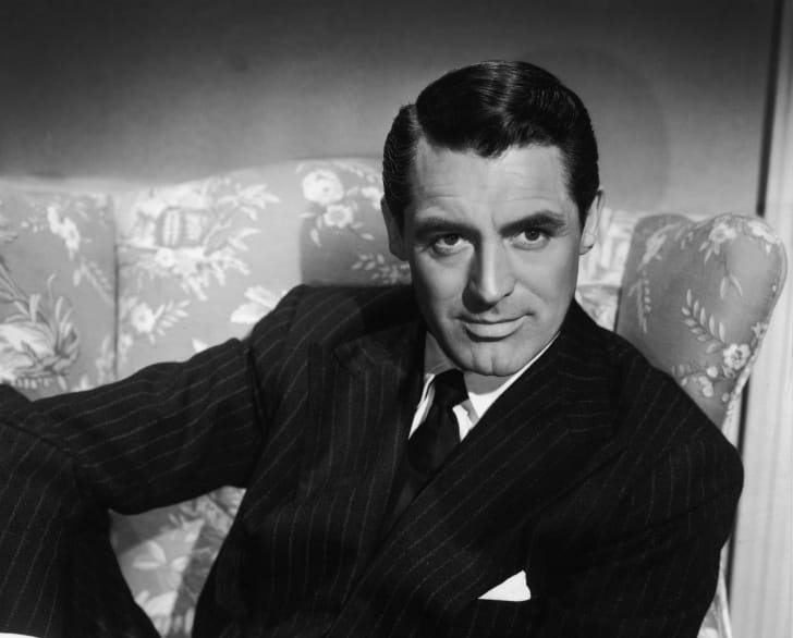 Cary Grant is pictured in a publicity photo circa the 1940s