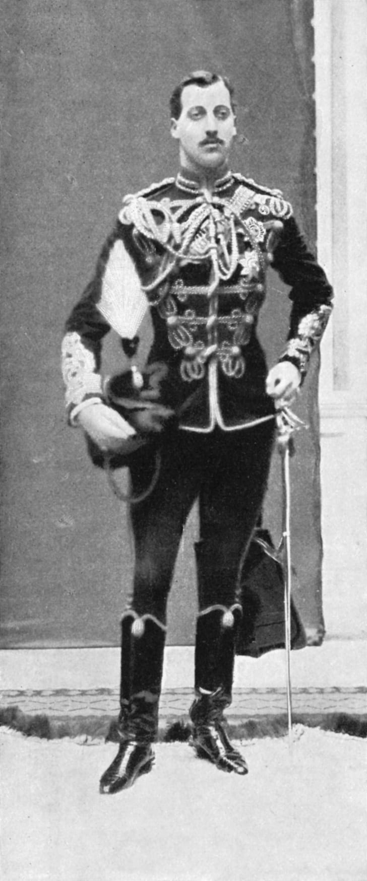 Prince Albert Victor, Duke of Clarence and Avondale, c1890s