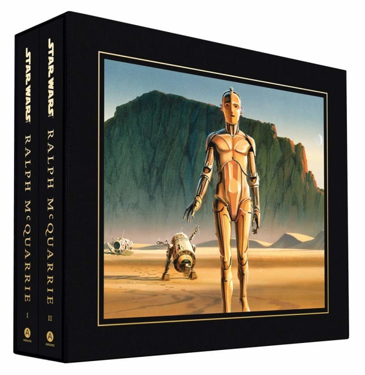 The Ralph McQuarrie Star Wars art book.