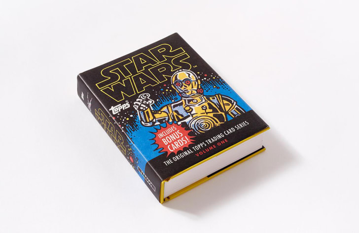 Star Wars Topps trading card book from Amazon.