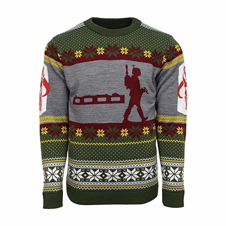 Boba Fett Ugly Christmas Sweater.