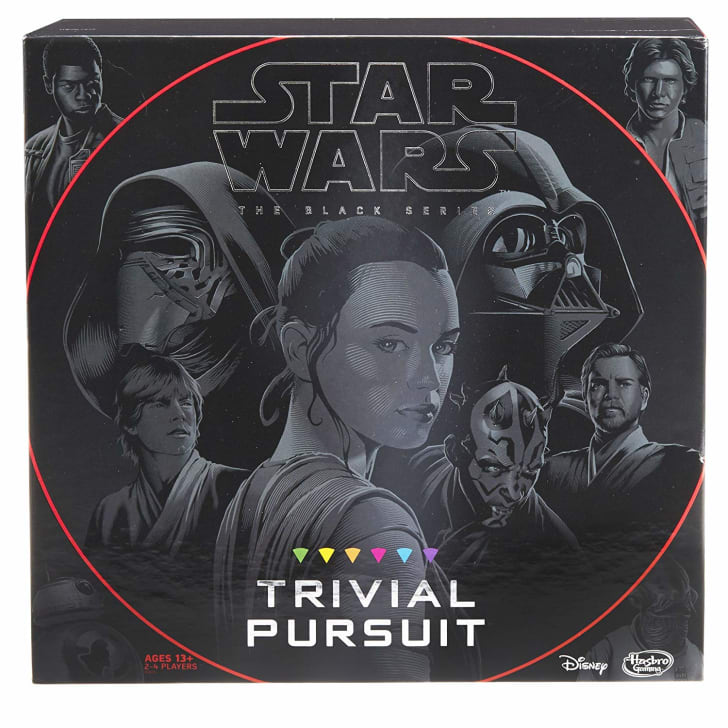 Star Wars Trivial Pursuit from Amazon.