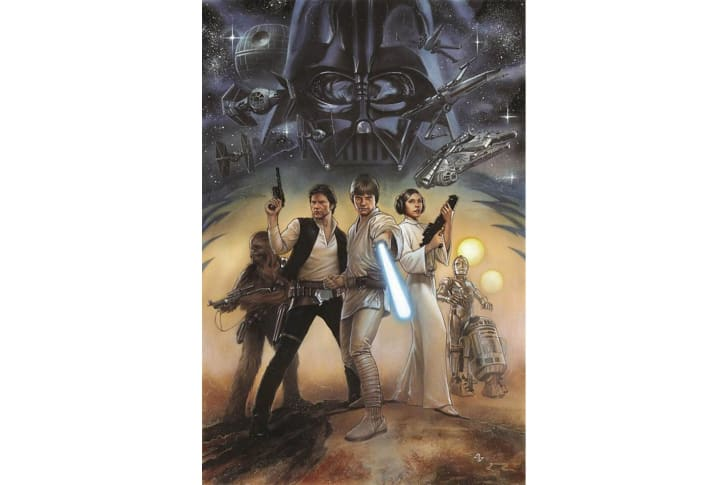 Star Wars comic book from Marvel on Amazon.