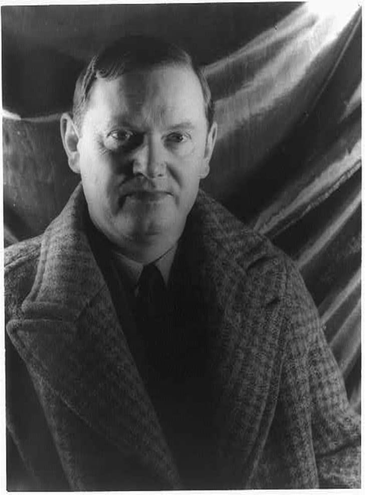 Portrait of Evelyn Waugh by Carl Van Vechten