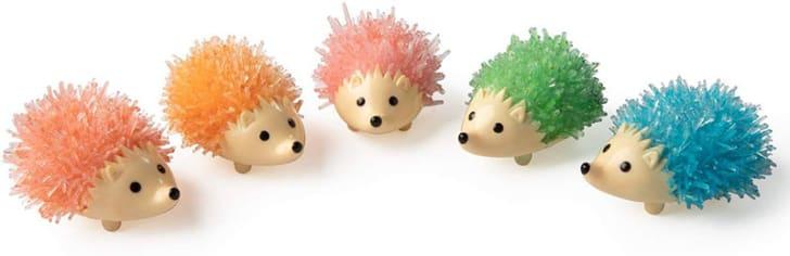 Crystal Growing Hedgehogs