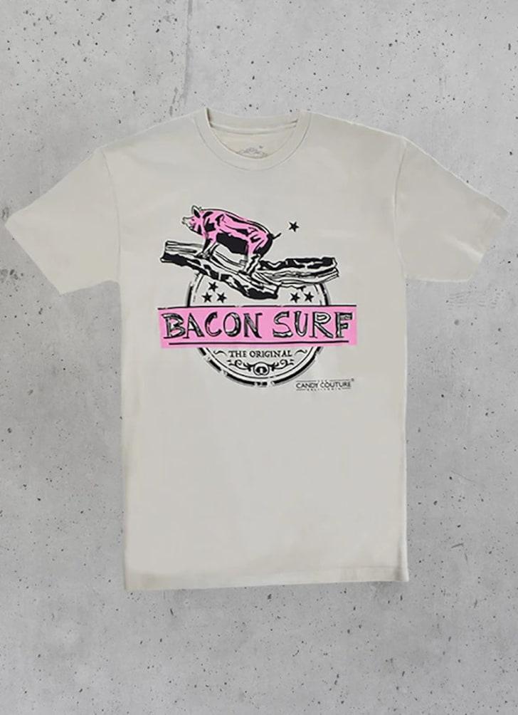 candy couture california bacon shirt