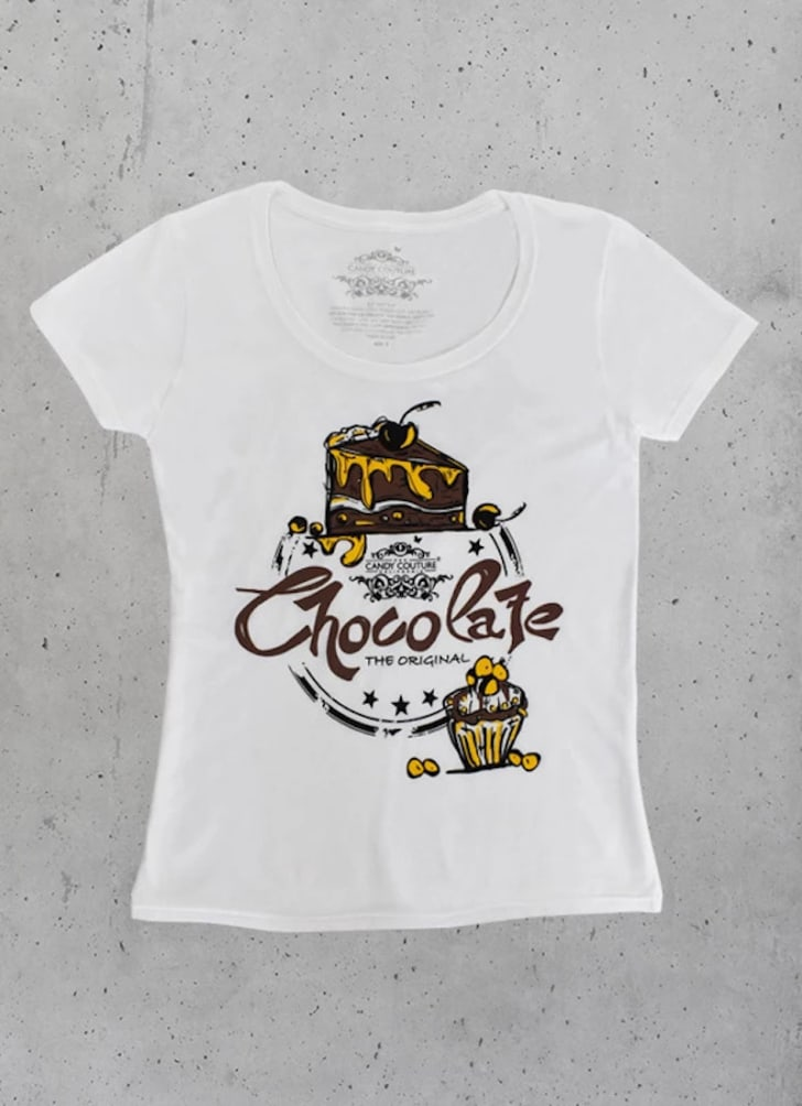 candy couture california chocolate shirt