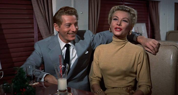 Danny Kaye and Vera-Ellen in 'White Christmas' (1954)