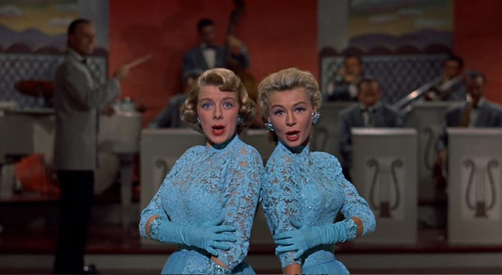 Rosemary Clooney and Vera-Ellen in 'White Christmas' (1954)