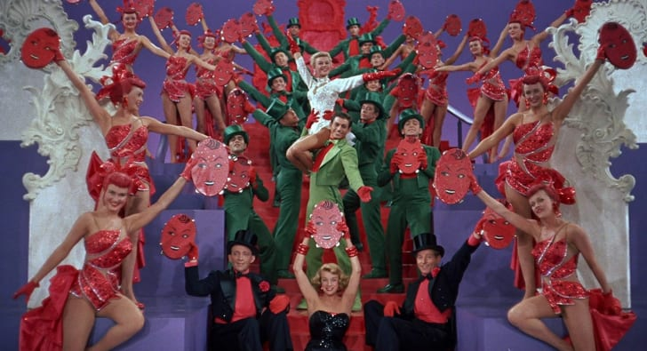 A scene from White Christmas (1954)