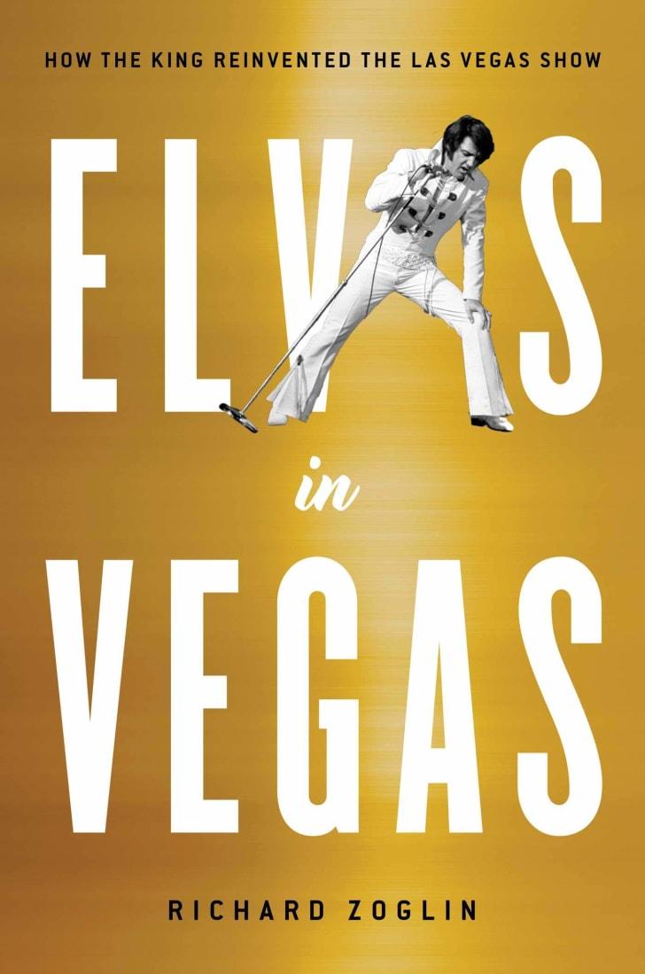 Elvis in Vegas book