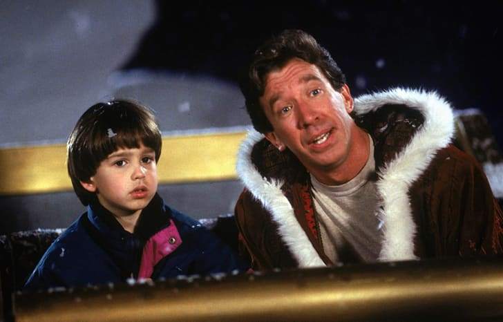 Eric Lloyd and Tim Allen in The Santa Clause (1994)
