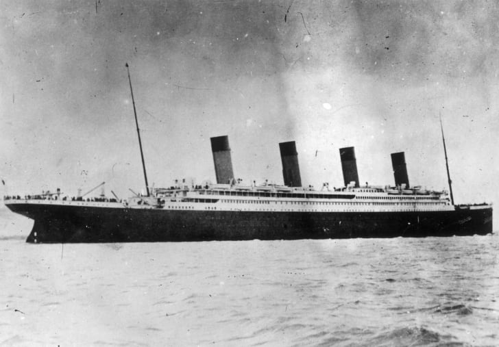 An image of the Titanic.