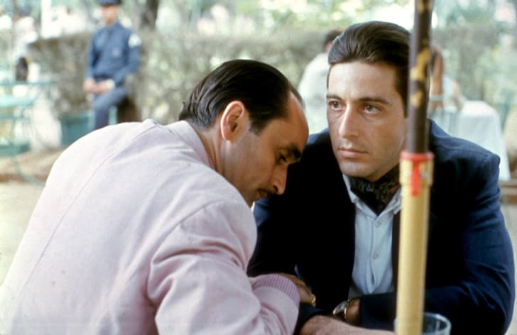 John Cazale and Al Pacino in 'The Godfather Part II' (1974)