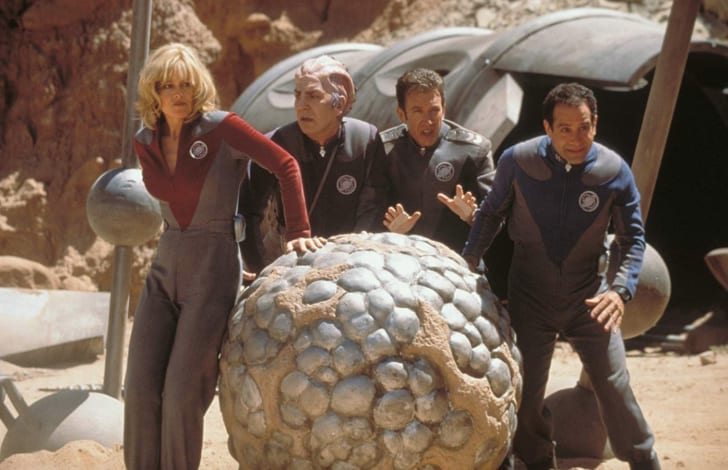 Sigourney Weaver, Alan Rickman, Tim Allen, and Tony Shalhoub in Galaxy Quest (1999)