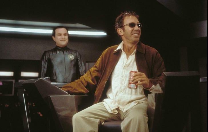 Tim Allen and Enrico Colantoni in Galaxy Quest (1999)