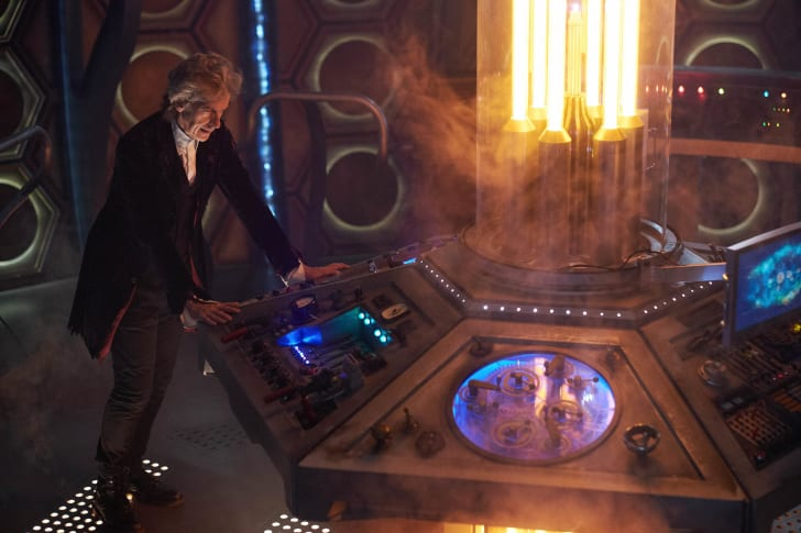 Peter Capaldi as The Doctor in 'Doctor Who'