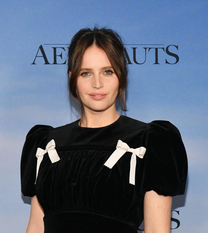 "Felicity Jones attends ""The Aeronauts"" New York Premiere at SVA Theater on December 04, 2019 in New York City"