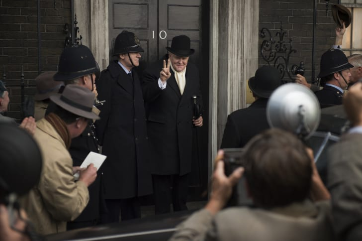 John Lithgow as Winston Churchill in season 1 of 'The Crown'