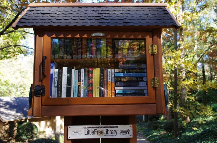 little free library in sandy springs, georgia